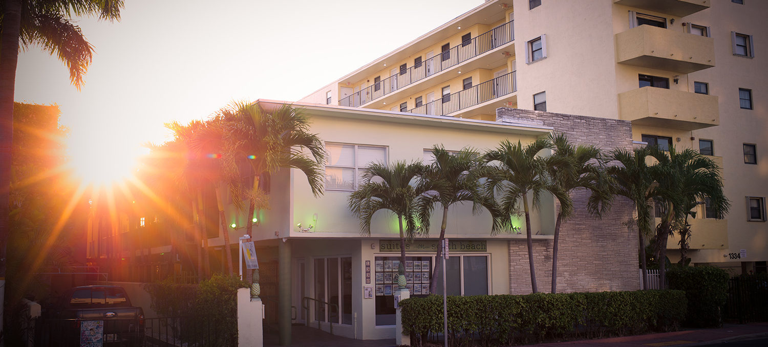 Exterior Suites on South Beach